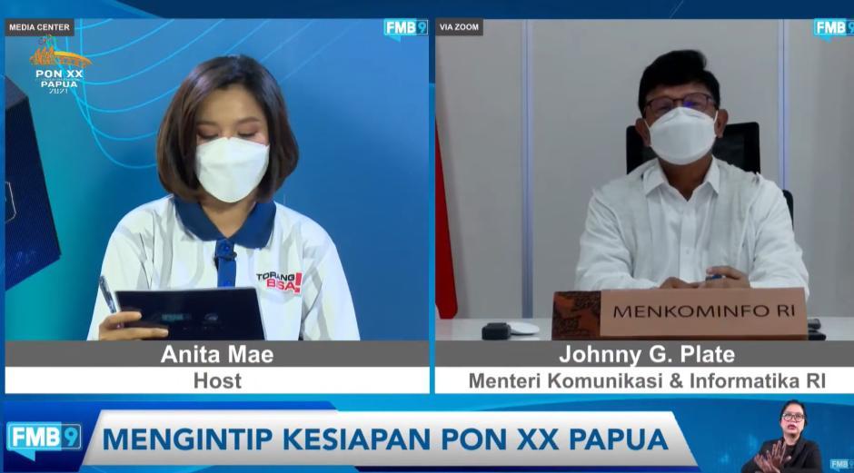 Antisipasi Kenaikan Trafik Jelang PON XX Papua, Menkominfo Siapkan Backup Telekomunikasi-0