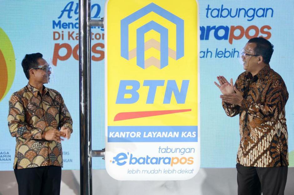 BTN dan Pos Indonesia Luncurkan eBatarapos-2