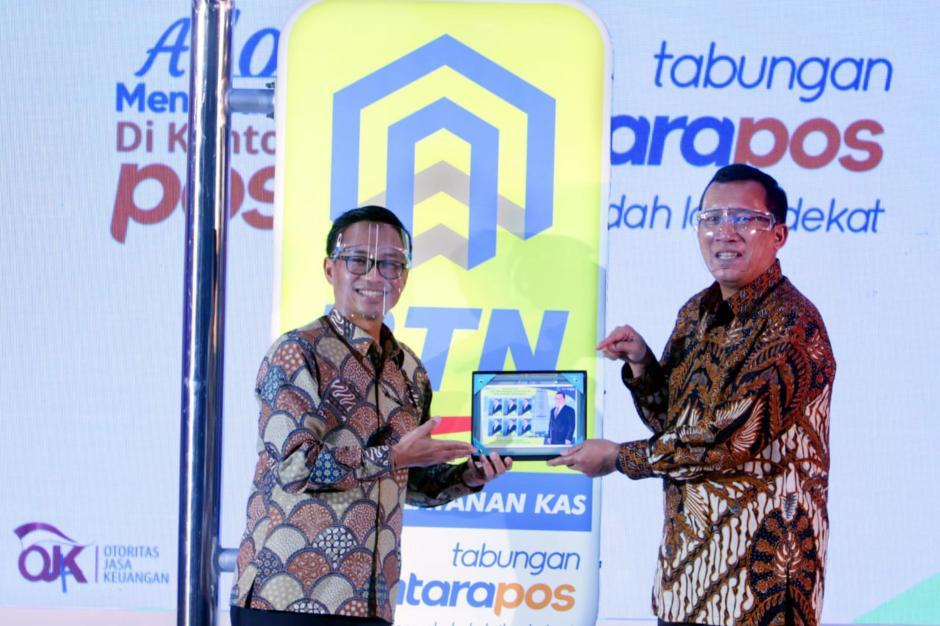 BTN dan Pos Indonesia Luncurkan eBatarapos-0