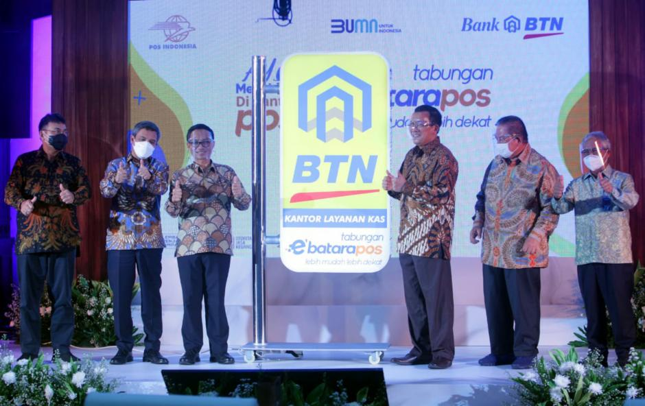 BTN dan Pos Indonesia Luncurkan eBatarapos-1