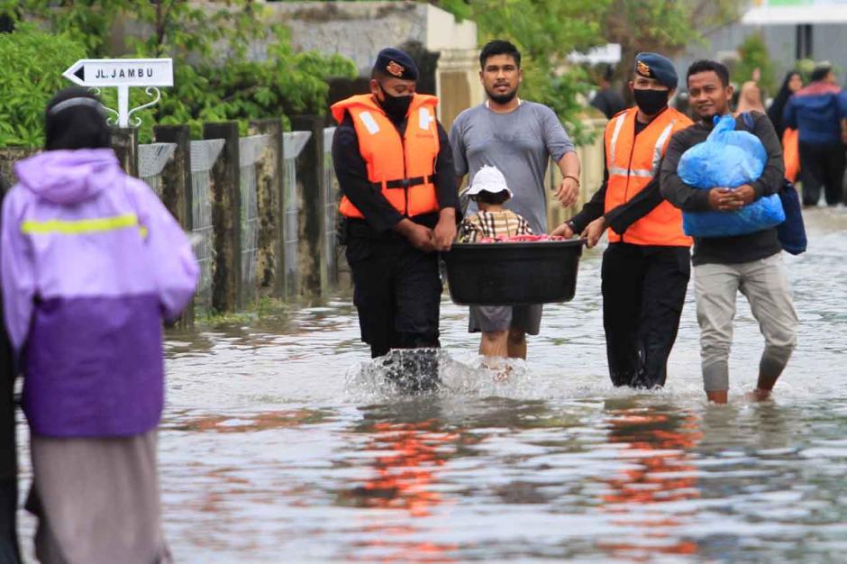 Banjir Akibat Tingginya Intensitas Hujan di Aceh-1