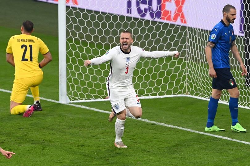 Final Piala Eropa 2020: Luke Shaw Cetak Gol di Menit Kedua-1