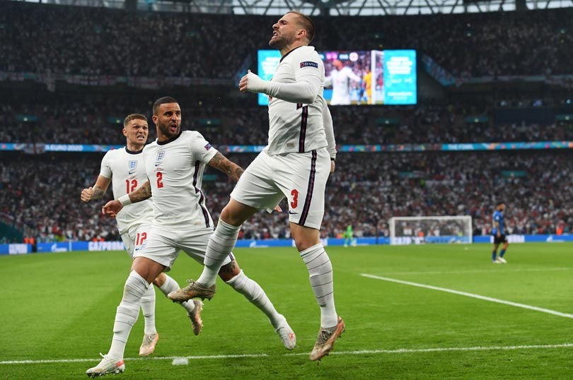 Final Piala Eropa 2020: Luke Shaw Cetak Gol di Menit Kedua-0