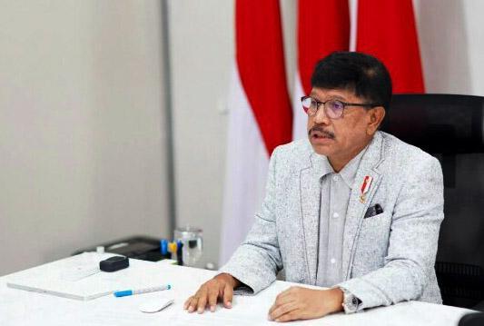 MenkominfoPaparkan Roadmap Digital Indonesia dalam ATxSG-1