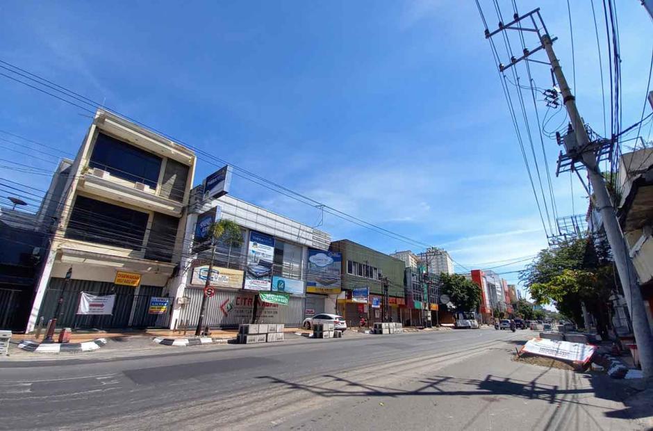 Bak Kota Mati, Begini Penampakan Semarang Selama Penerapan PPKM Darurat-1