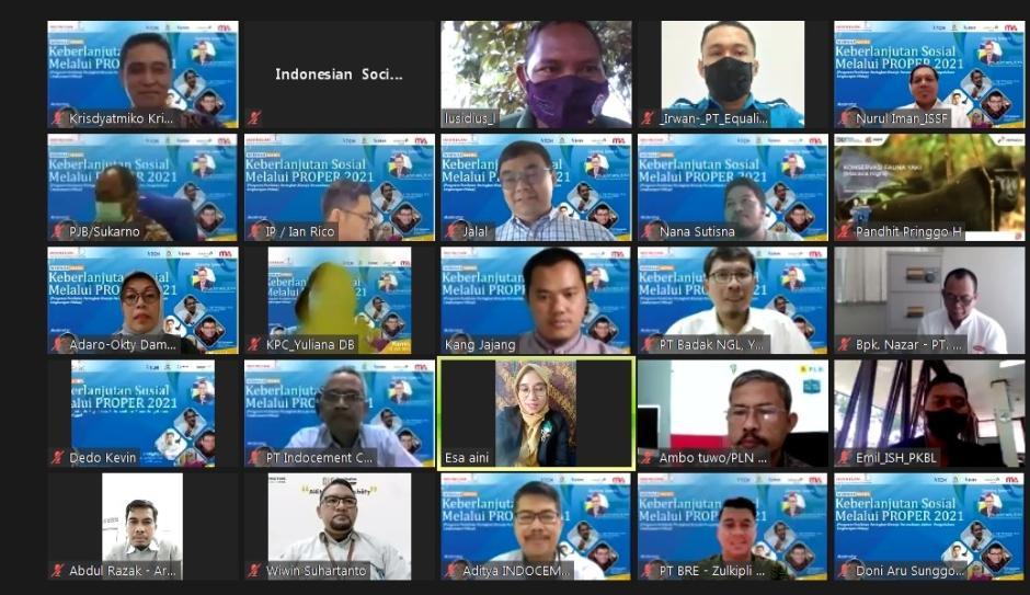 ISSF Gelar Webinar Bertemakan Masalah Lingkungan Hidup-1