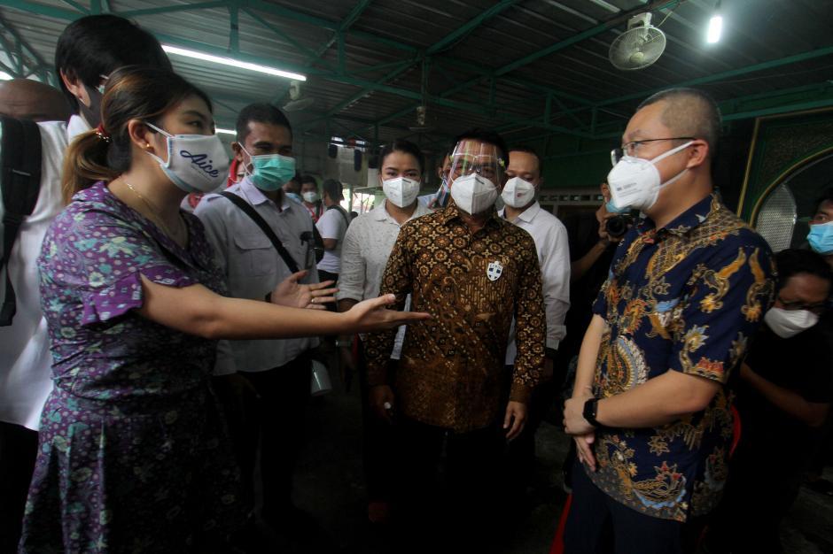 KSP-AICE Distribusikan Masker Medis ke Warga Kemayoran-3