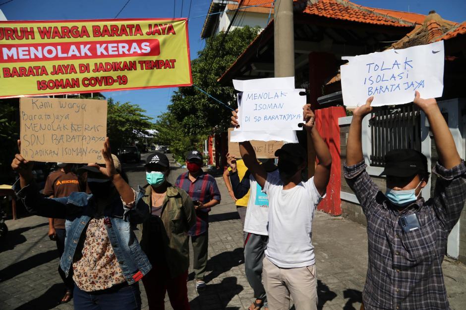 Warga Surabaya Tolak Gedung Sekolah Dijadikan Ruang Isolasi Covid-19-4