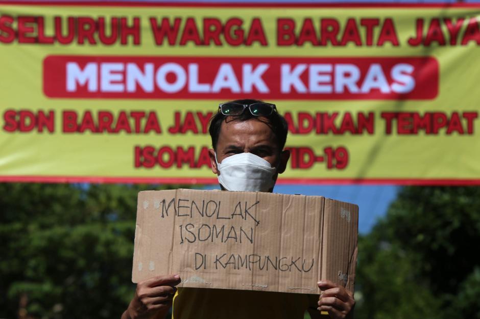 Warga Surabaya Tolak Gedung Sekolah Dijadikan Ruang Isolasi Covid-19-1