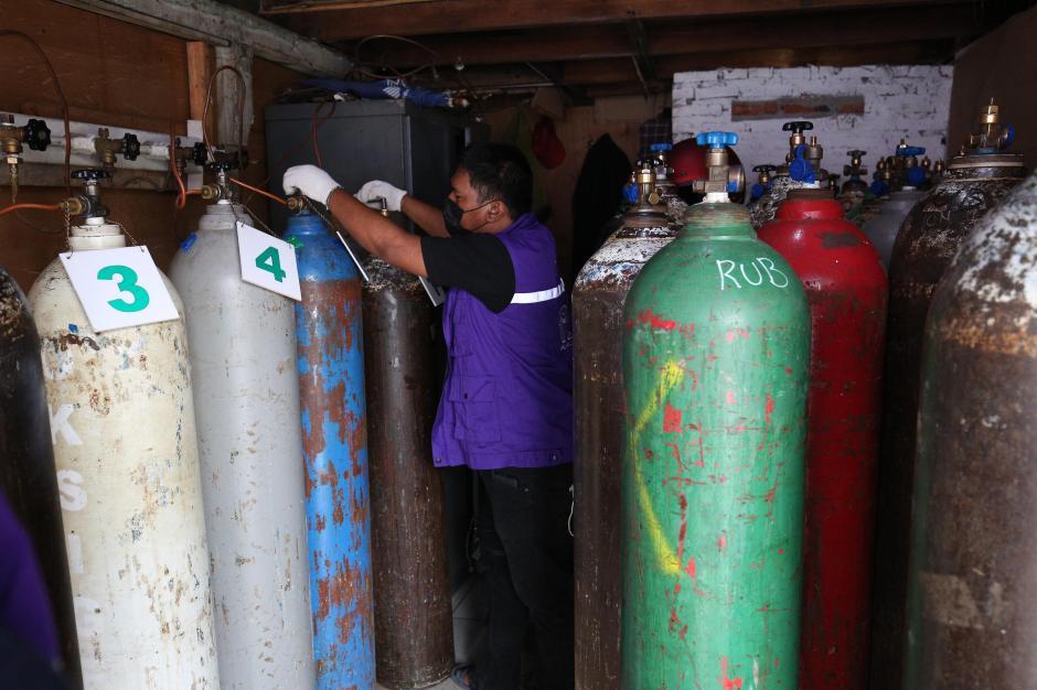 RHC Peduli Gelar Pembagian Oksigen Gratis di Jakarta-3