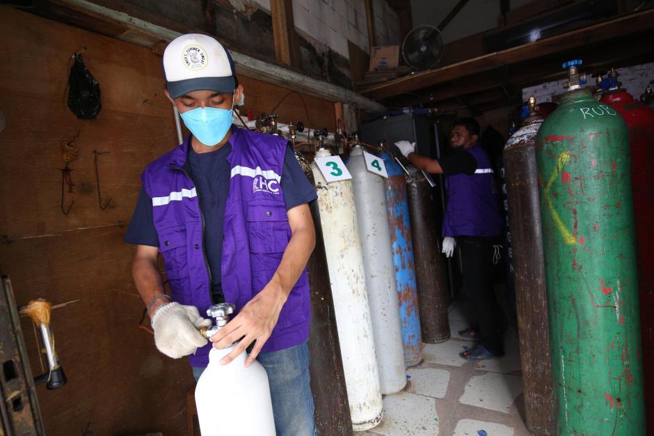 RHC Peduli Gelar Pembagian Oksigen Gratis di Jakarta-2