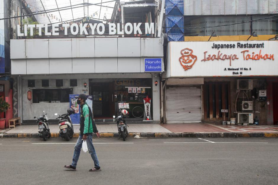 Sepinya Little Tokyo Blok M Selama PPKM Level 4-4