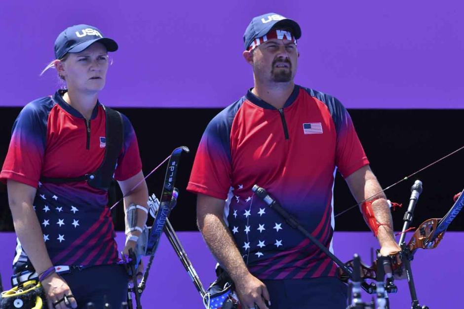 TOP! Tim Panahan Indonesia Tundukan Amerika Serikat di Babak Eliminasi Beregu Campuran Olimpiade Tokyo 2020-2