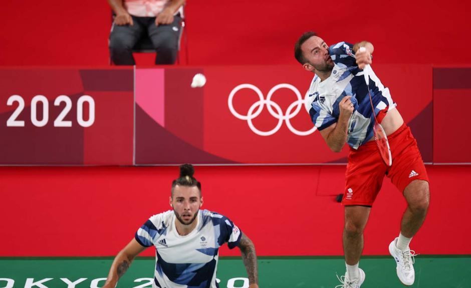 Bungkam Ganda Putra Inggris Raya, Kevin/Marcus Menang Mudah di Laga Pertama Olimpiade Tokyo-0