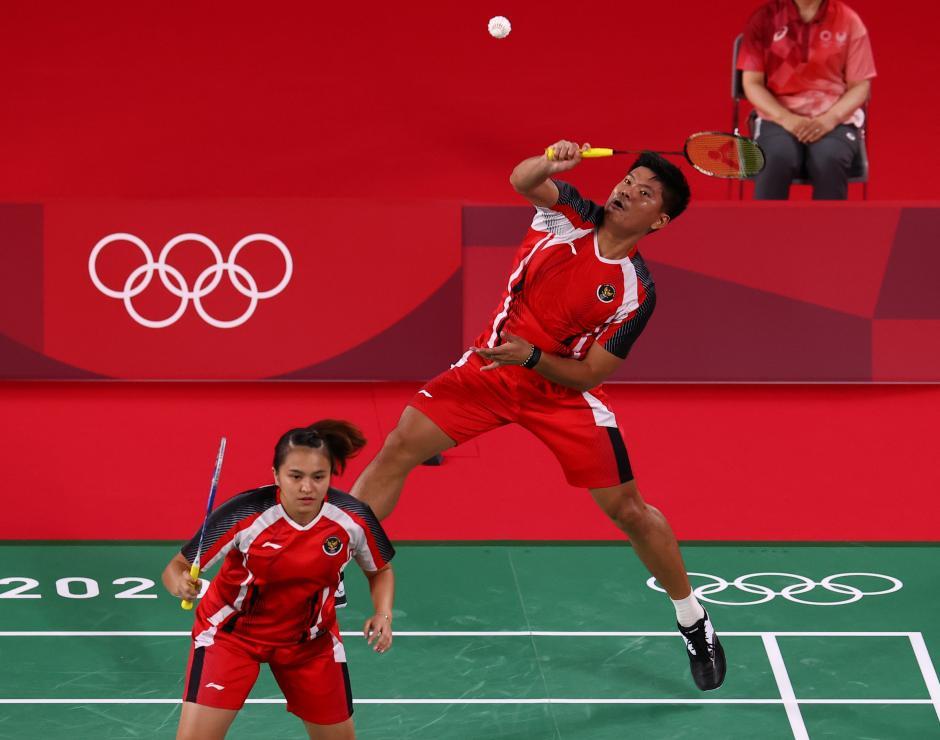 Tundukkan Pasangan Denmark, Praveen/Melati Buka Peluang ke Perempat Final-0
