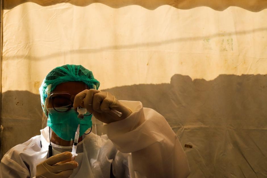 MNC Peduli Gelar Serbuan Vaksinasi Covid-19 di MNC Studios Kebon Jeruk-5