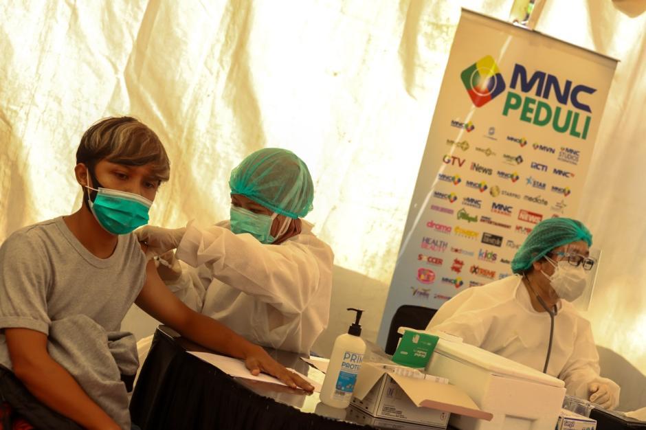 MNC Peduli Gelar Serbuan Vaksinasi Covid-19 di MNC Studios Kebon Jeruk-1