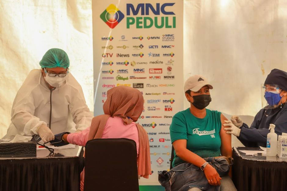 MNC Peduli Gelar Serbuan Vaksinasi Covid-19 di MNC Studios Kebon Jeruk-6