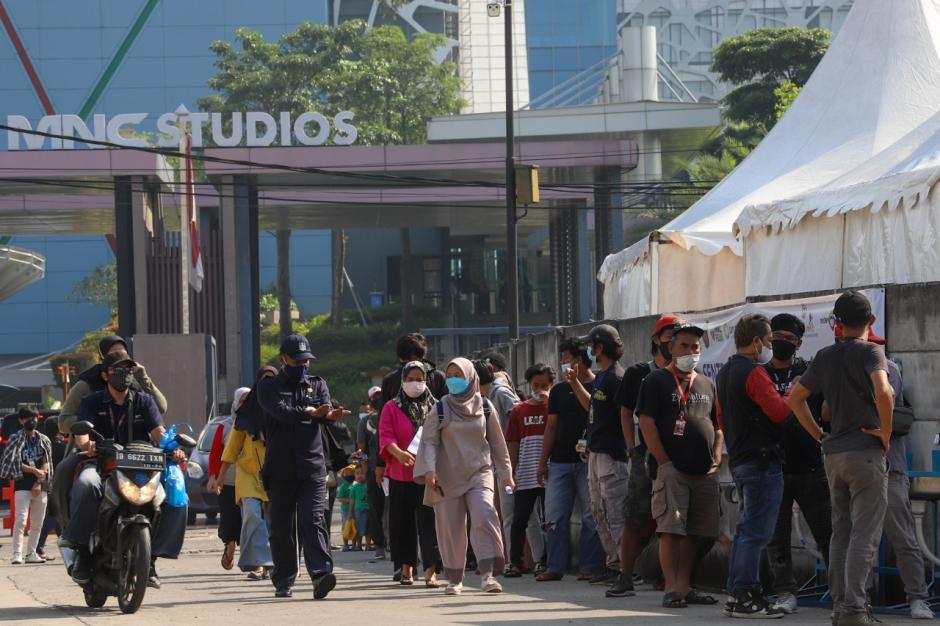 MNC Peduli Gelar Serbuan Vaksinasi Covid-19 di MNC Studios Kebon Jeruk-4