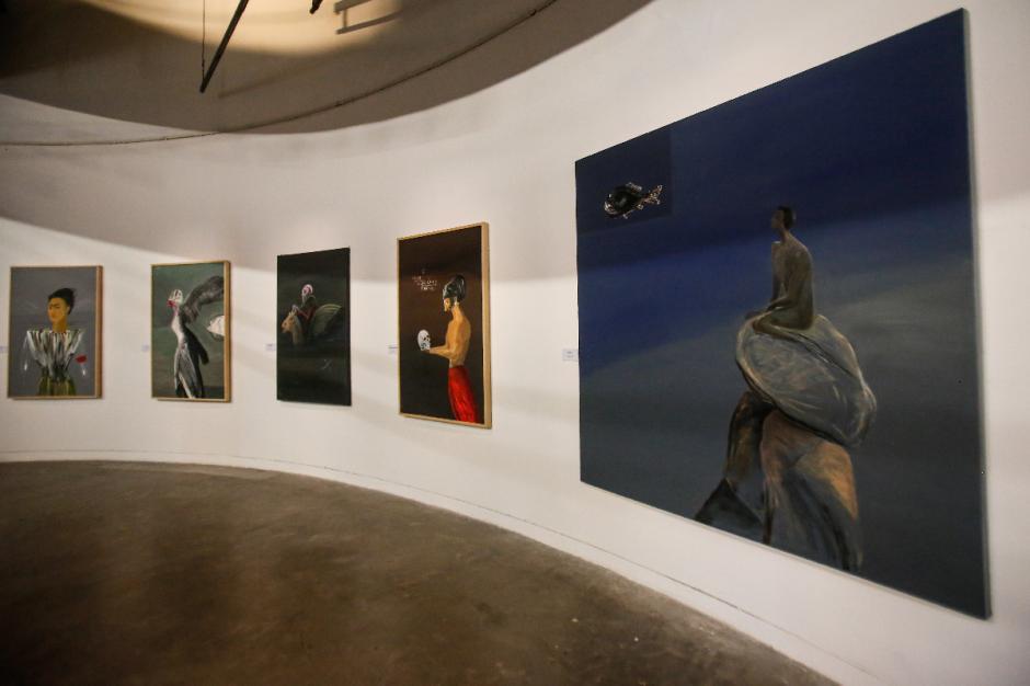 Peringati 80 Tahun, Goenawan Mohamad Pamerkan Karya Seni Rupa-3