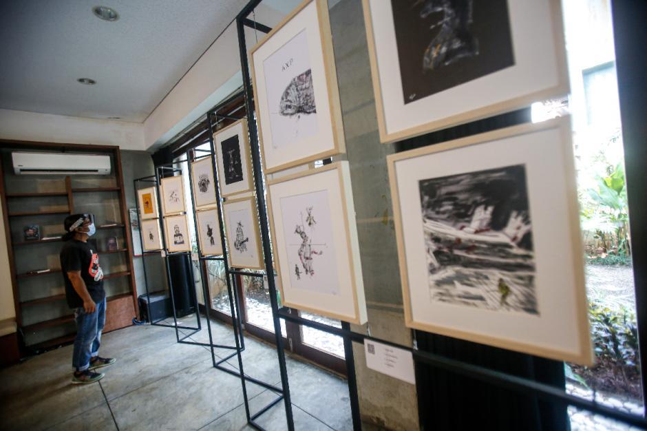 Peringati 80 Tahun, Goenawan Mohamad Pamerkan Karya Seni Rupa-0