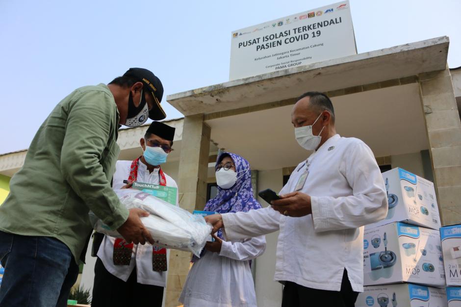 Bantu Penanggulangan Covid-19, Pamapersada Nusantara Serahkan Bantuan Alkes-3