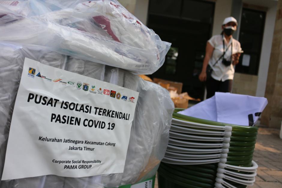 Bantu Penanggulangan Covid-19, Pamapersada Nusantara Serahkan Bantuan Alkes-1