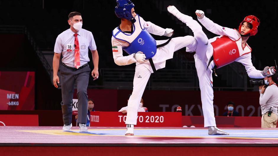 Intip Aksi Taekwondoin Korea Selatan Si Tampan Lee Dae Hoon di Olimpiade Tokyo 2020-1