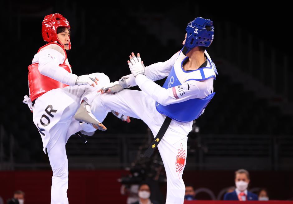 Intip Aksi Taekwondoin Korea Selatan Si Tampan Lee Dae Hoon di Olimpiade Tokyo 2020-4