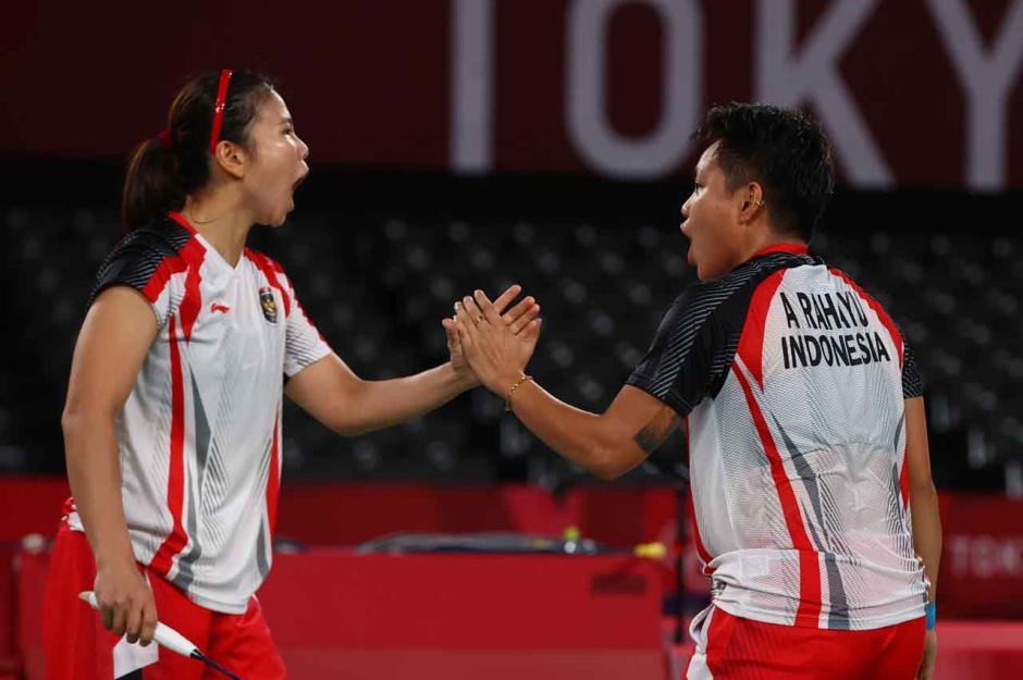 Greysia/Apriyani Berhasil Torehkan Emas Pertama Indonesia di Olimpiade Tokyo 2020-6