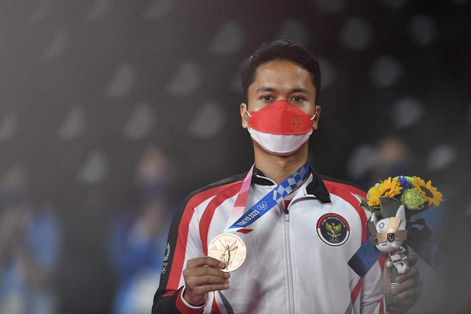 Anthony Sinisuka Sabet Medali Perunggu Olimpiade Tokyo 2020-0