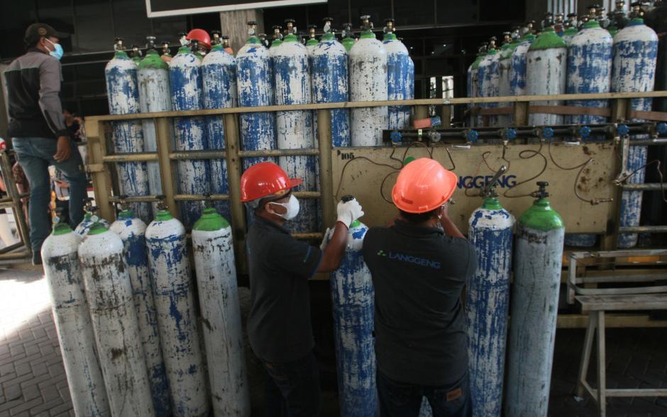 Oksigen Gratis Bagi Warga Semarang-2