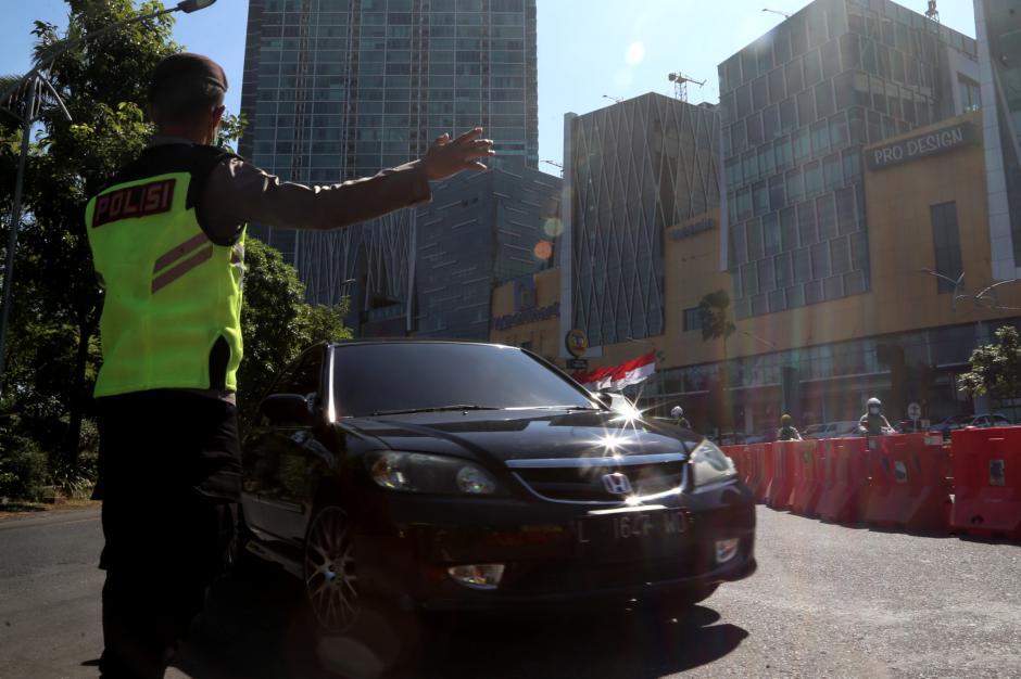 Akses Masuk Kota Surabaya Dibuka, Kendaraan Luar Kota Leluasa Melintas-1