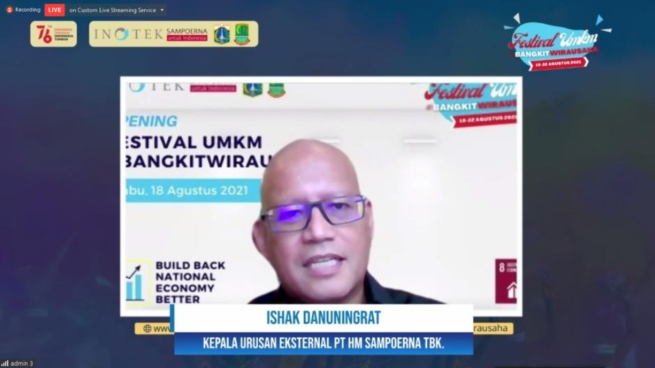 Dukung Pemulihan Ekonomi, Sampoerna dan Yayasan INOTEK Gelar Festival UMKM-0