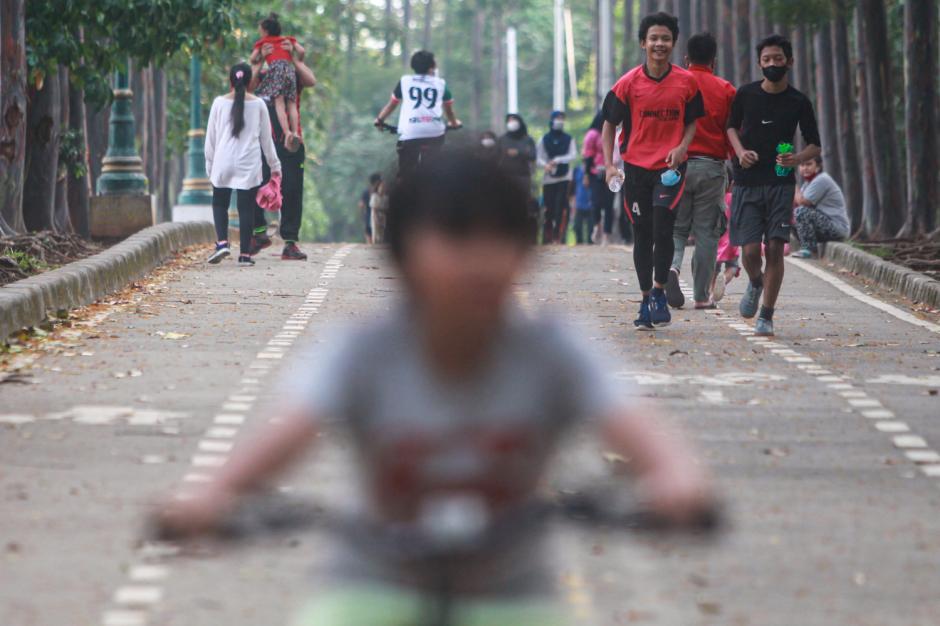Sarana Olahraga Banjir Kanal Timur Kembali Dibuka-4