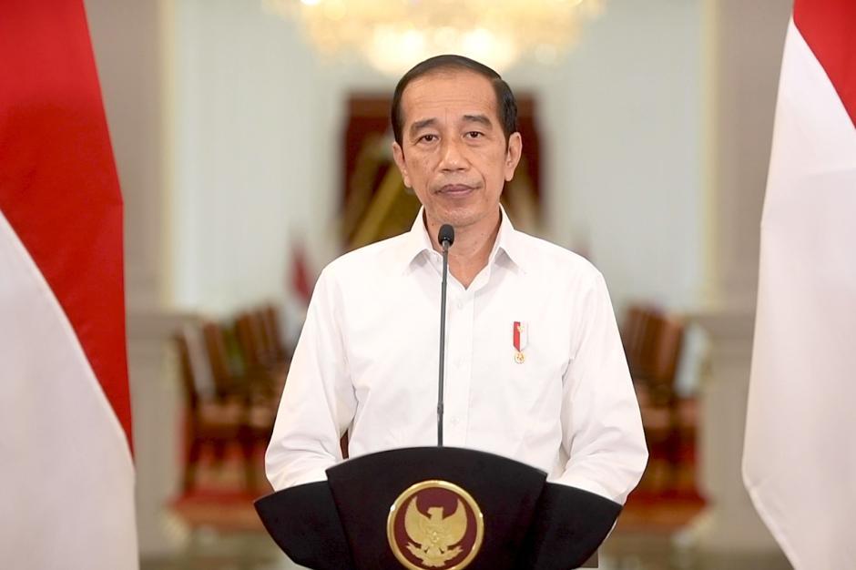 Presiden Jokowi Umumkan Perkembangan PPKM-0