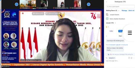 Aptika Kominfo dan DPR RI Gelar Webinar Literasi Digital-1