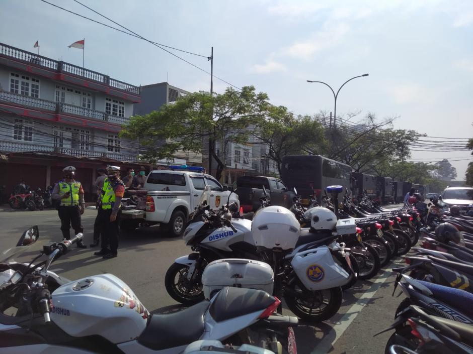 Puluhan Polisi Jaga Ketat TKP Kebakaran Lapas Tangerang-2