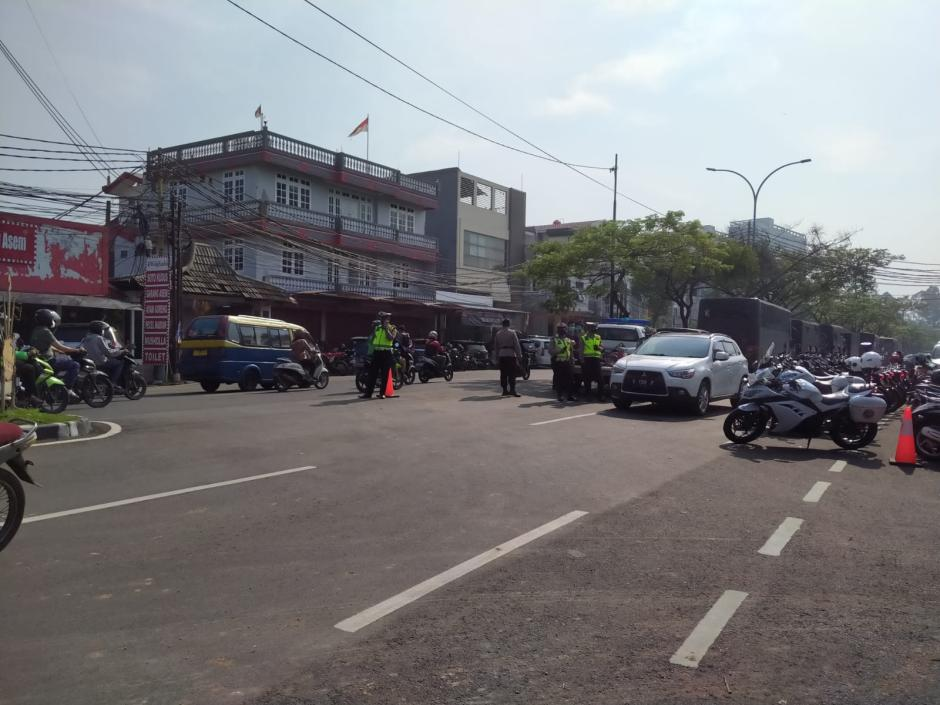 Puluhan Polisi Jaga Ketat TKP Kebakaran Lapas Tangerang-1