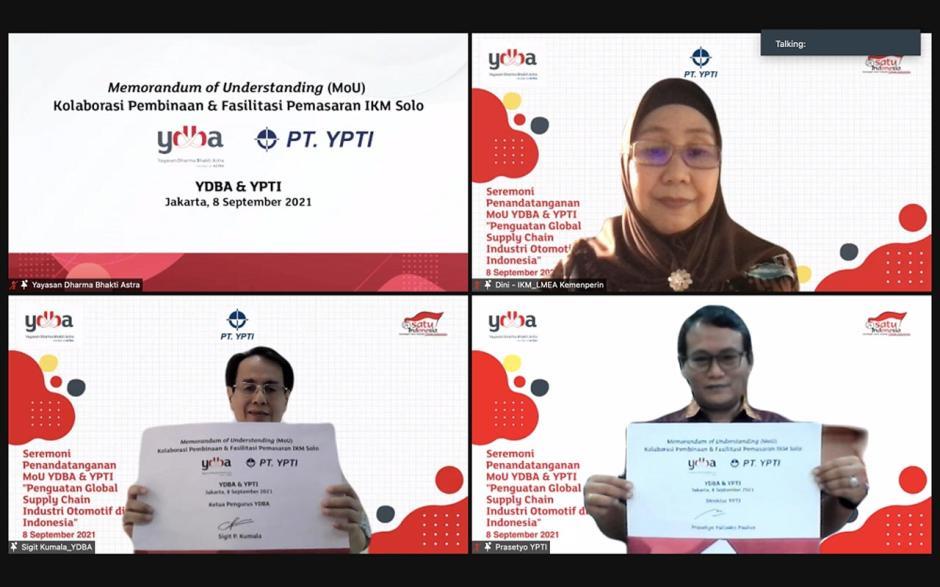 YDBA Gandeng YPTI sebagai Ayah Angkat Industri Kecil dan Menengah di Solo-0