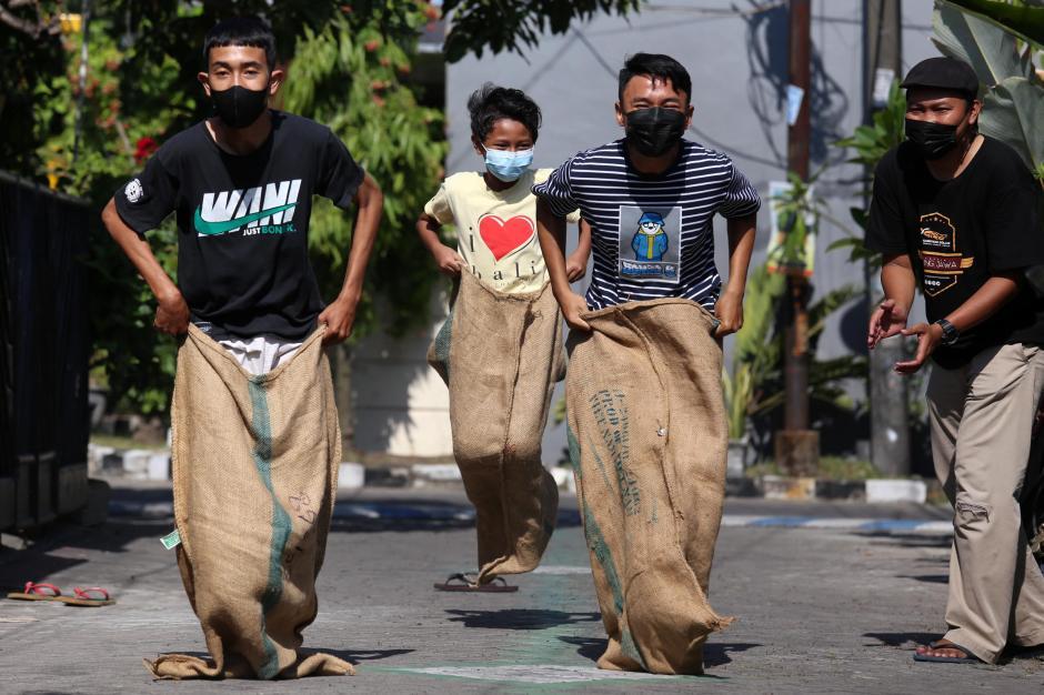 Anak Gagap Sosial Akibat PJJ, Komunitas Kampoeng Dolanan Sambangi Kampung di Surabaya-0