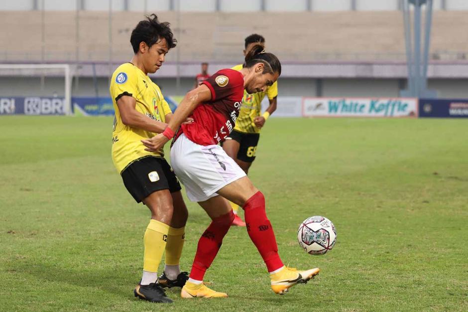 Bali United Kandaskan Perlawanan Barito Putera 2-1-1
