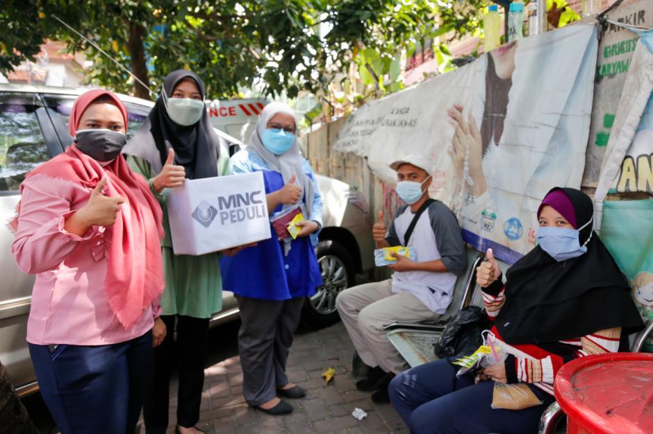 Pacu Disipilin Prokes, MNC Peduli Dukung Relawan Bagikan Masker dan Sosialisasi Prokes-1