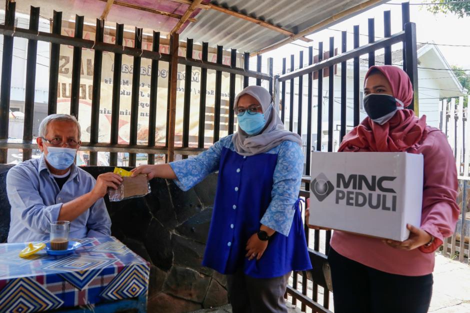 Pacu Disipilin Prokes, MNC Peduli Dukung Relawan Bagikan Masker dan Sosialisasi Prokes-0