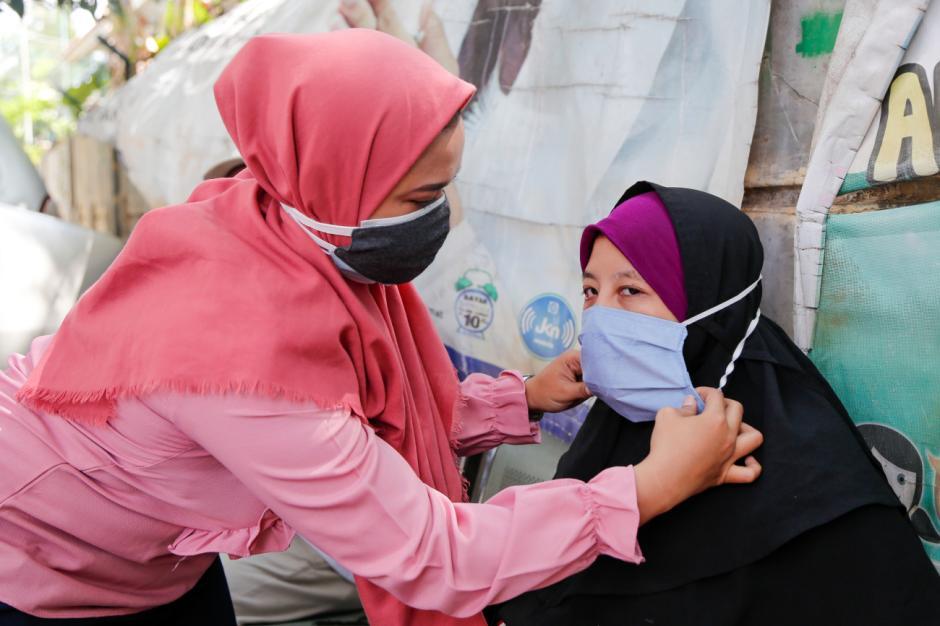 Pacu Disipilin Prokes, MNC Peduli Dukung Relawan Bagikan Masker dan Sosialisasi Prokes-2