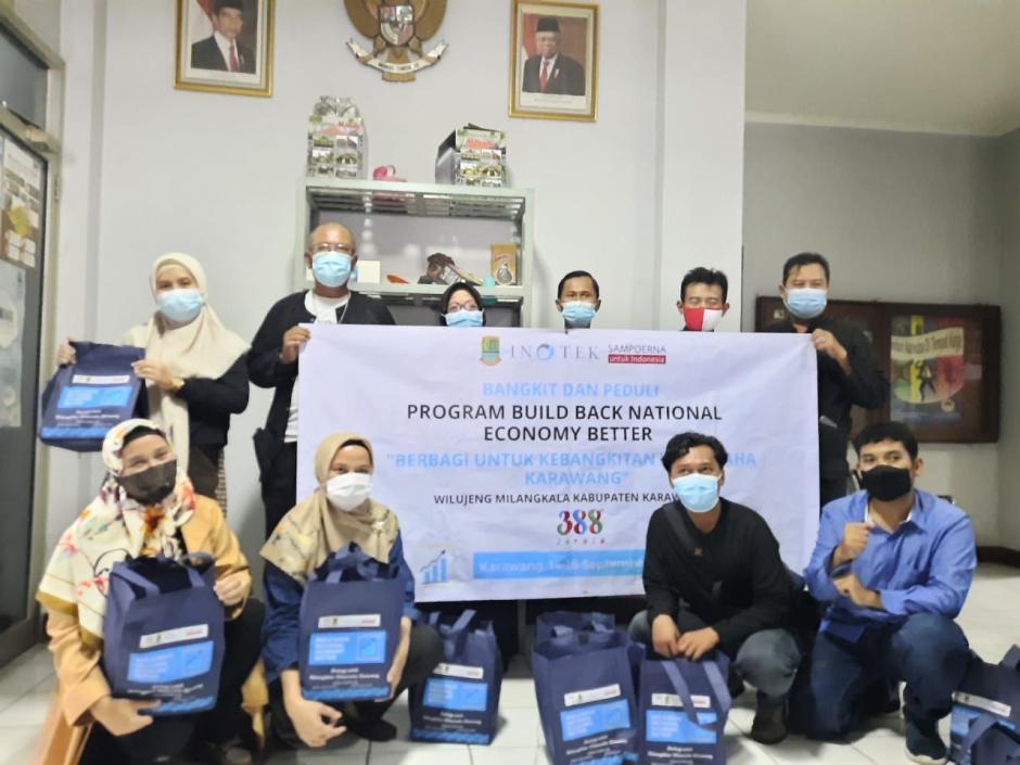 Rayakan HUT ke-388 Karawang, INOTEK dan Sampoerna Gelar Kegiatan Bersama UMKM Lokal-2