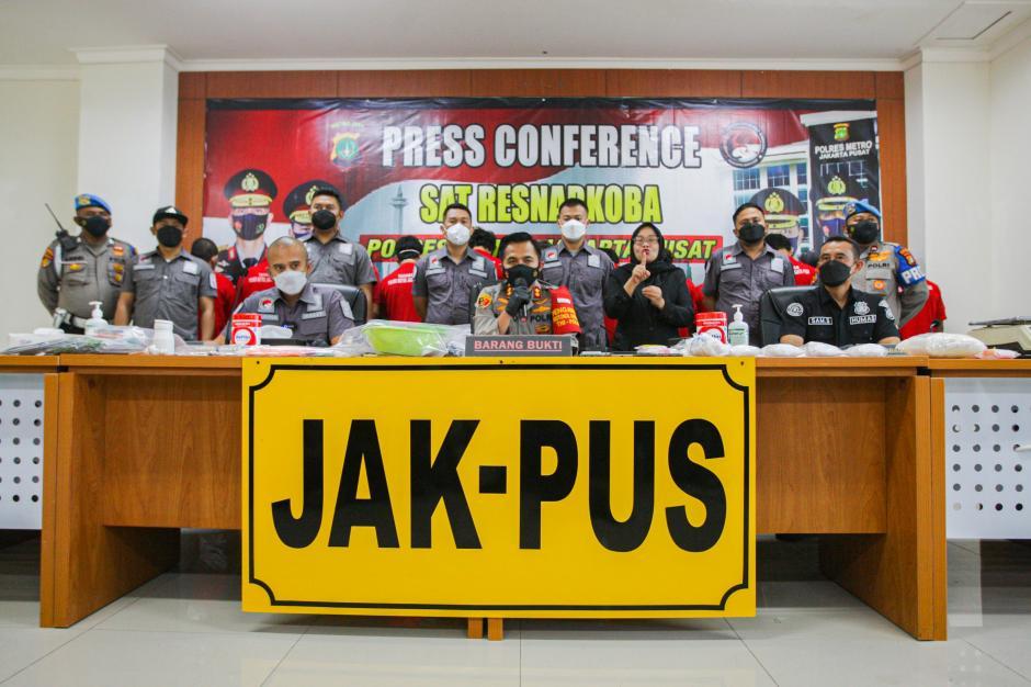 Polres Metro Jakpus Ungkap Home Industry Ineks Palsu-6