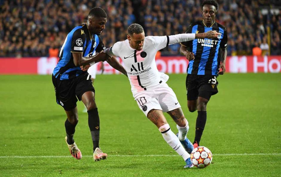 Messi dkk Melempem, PSG Ditahan Imbang Club Brugge-0