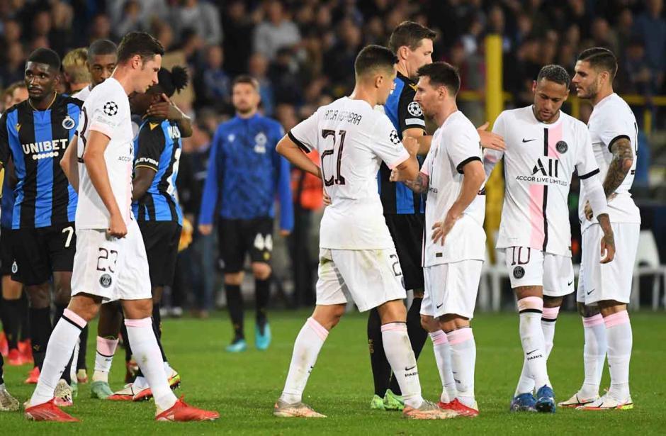 Messi dkk Melempem, PSG Ditahan Imbang Club Brugge-1