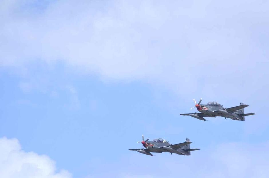 Operasi Garda Samudera dengan Pesawat Tempur Super Tucano-3
